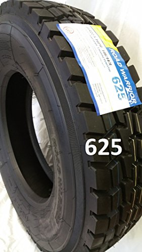 tires  road warrior drive tires  year  miles warranty  auto parted