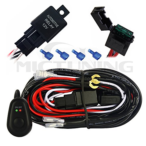 Mictuning Mt00427 Led Light Bar Wiring Harness On Off